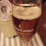 Solid beer, a Cruzcampo Gran Reserva