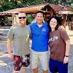Jason, Flavio and Michelle - Flavio and Go Tours Costa Rica are the best in the business! Period