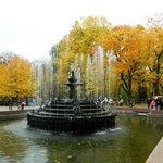 Chisinau park fountain