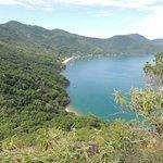 Vista da praia de Araçatiba