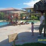 piscinas zona posterior al ingreso (condominio)