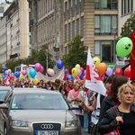 The protest du jour