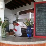 Our menu and kitchen