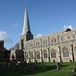 The Splendid Spire of St Marys Church Hadleigh