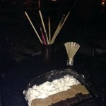 S'mores!! How neat :)