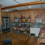 Our mercantile has groceries you might need  as well as our yummy homemade jam.