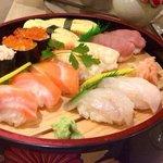 Sushi..... Riquísimo.