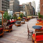 Outdoor Terrace at Refinery Rooftop