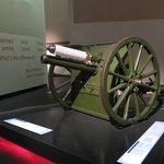 Royal Horse Artillery E Battery 13 pounder field gun.......this field gun fired the British Army