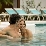 Relax in one of our two heated pools