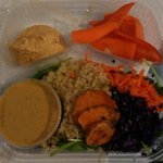 Bento box with curry sauce