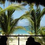 La vue du restaurant Krystal