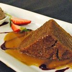 Warm Gingerbread Pudding