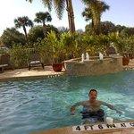 Nice heated pool