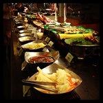 Buffet table #1
