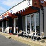Sandbanks beach cafe or kiosk Great friendly place
