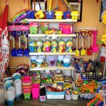 This is the place to buy your beach stuff Sandbanks Kiosk Chalkwell