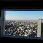 View from our double room on the 31st floor