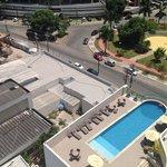 piscina vista do apto 804