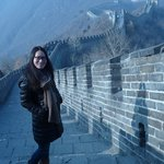 Jessie's at home at the Great Wall