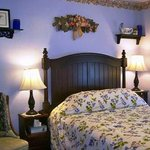 Beechnut guest room (pet free) with queen bed & bath