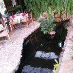 Area del restaurante Rincon Vallero