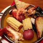 East Coast Bake lobster, mussel, claim, shrimp