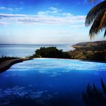 Where pool, ocean and sky meet