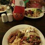 Tacos al Pastor, pollo, guacomole