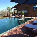Casa la Luna Pool and Deck Area