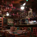 Maggie's bar area