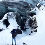 Katla glacier, seen on our super jeep tour with Katlatrack