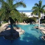 Pool.  It was SO pretty - like a resort
