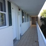Rooms open to outdoor corridors