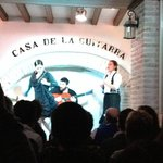 The full Flamenco - cante (singing), toque (guitar playing), baile (dance) and palmas (handclaps