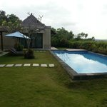Outside Main Villa - Private Pool And Lounge Area