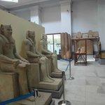 Interior del Museo de El Cairo