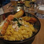 Pasta with Lobster tail