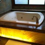 our spa tub