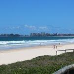 Tugun Beach looking south to Tweed Heads