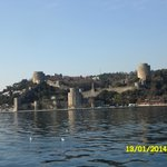 крепость вид с палубы