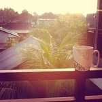balinese coffee with a view