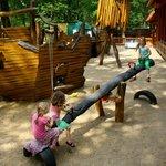 Kinderspielplatz - Piratenschiff Friedrich