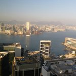 View From Room of Victoria Harbour