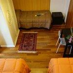 Bed and Breakfast Verona . Casa Batiuska - Camera Tripla dall'alto