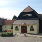 This is the White Hart Toby Carvery Stanway