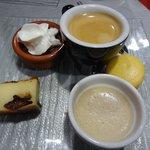 Café gourmand (après plat du jour : 14 euros)