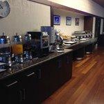 sala colazione, settimo piano