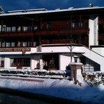 Ankunft bei Hotel Haymon in Seefeld