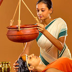 Ayurvedic Massage - Shirodhara